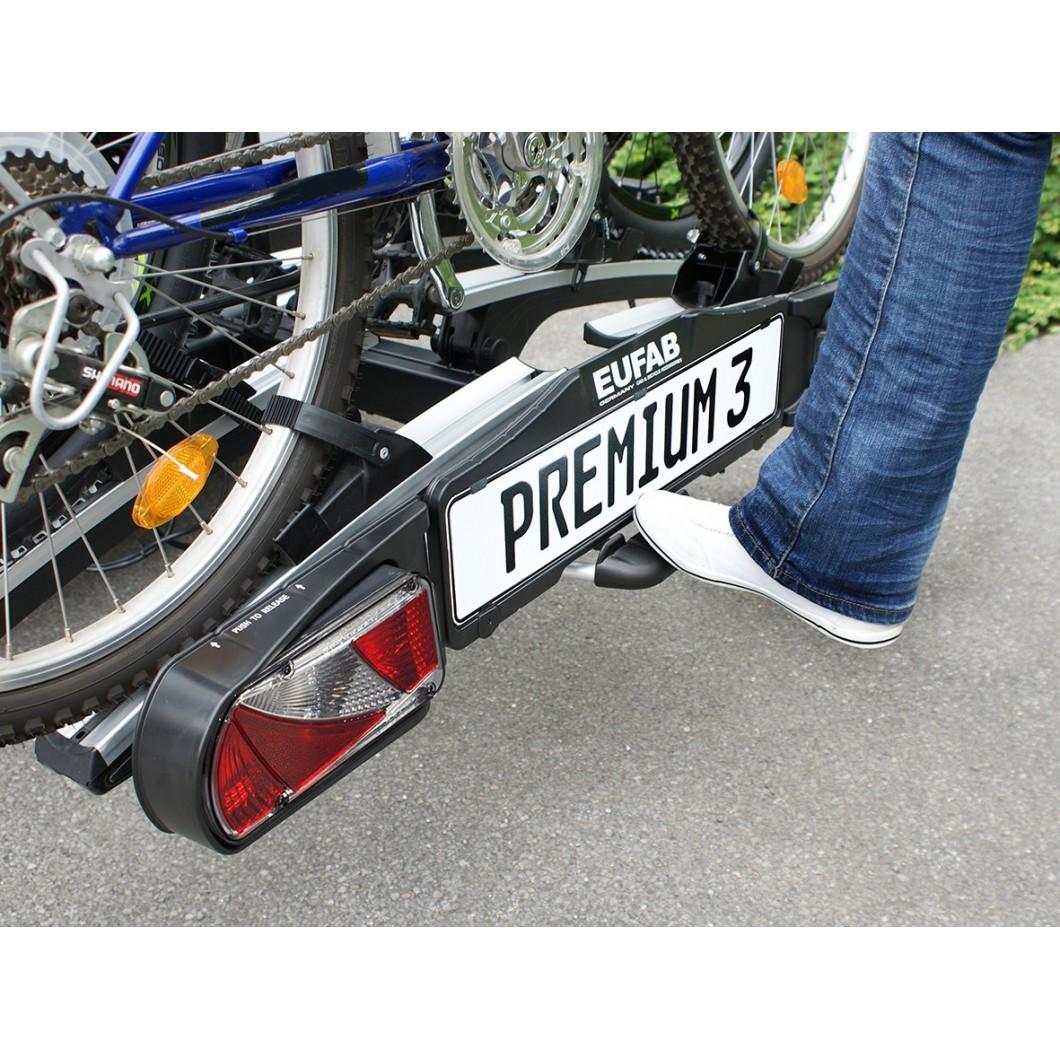 Porte-vélo électrique pliable EUFAB PREMIUM 2