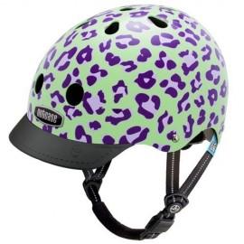 Little Nutty - Grape Leopard CASQUE VÉLO