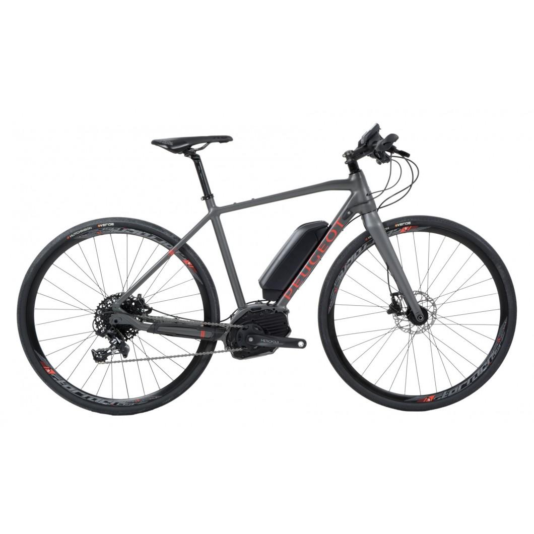 Vélo électrique gravel Peugeot eR02 Apex Flat Bar GRAVEL 2018