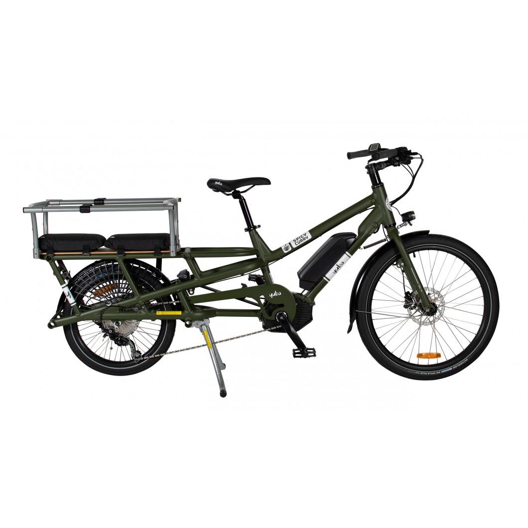 Vélo électrique longtail YUBA Spicy Curry Bosch 2019 - eCargo rallongé