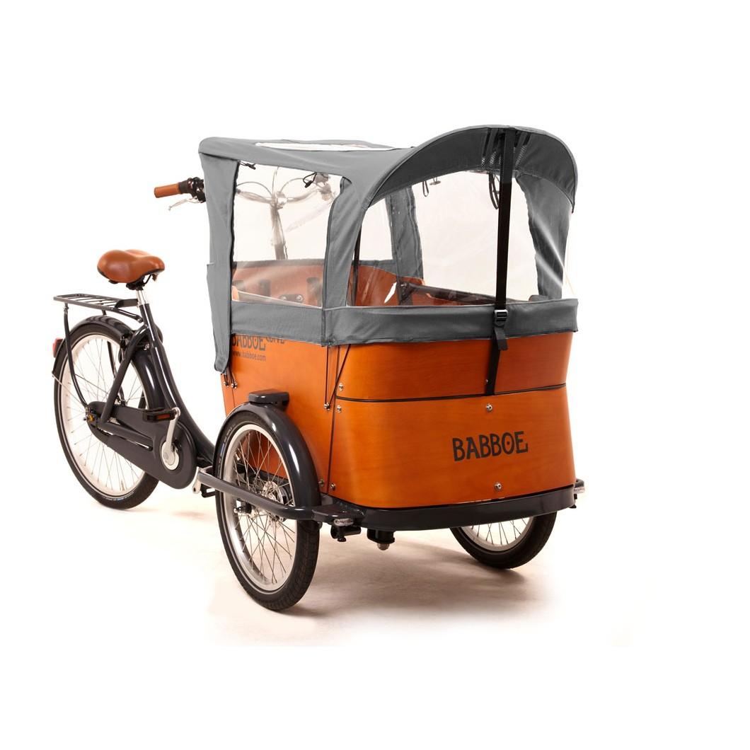 Vélo électrique Babboe Curve Mountain eCargo triporteur - moteur central Yamaha
