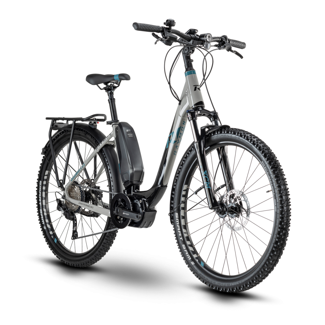 Vélo électrique RAYMON CrossRay E 5.5 Street 2020 • Vélozen