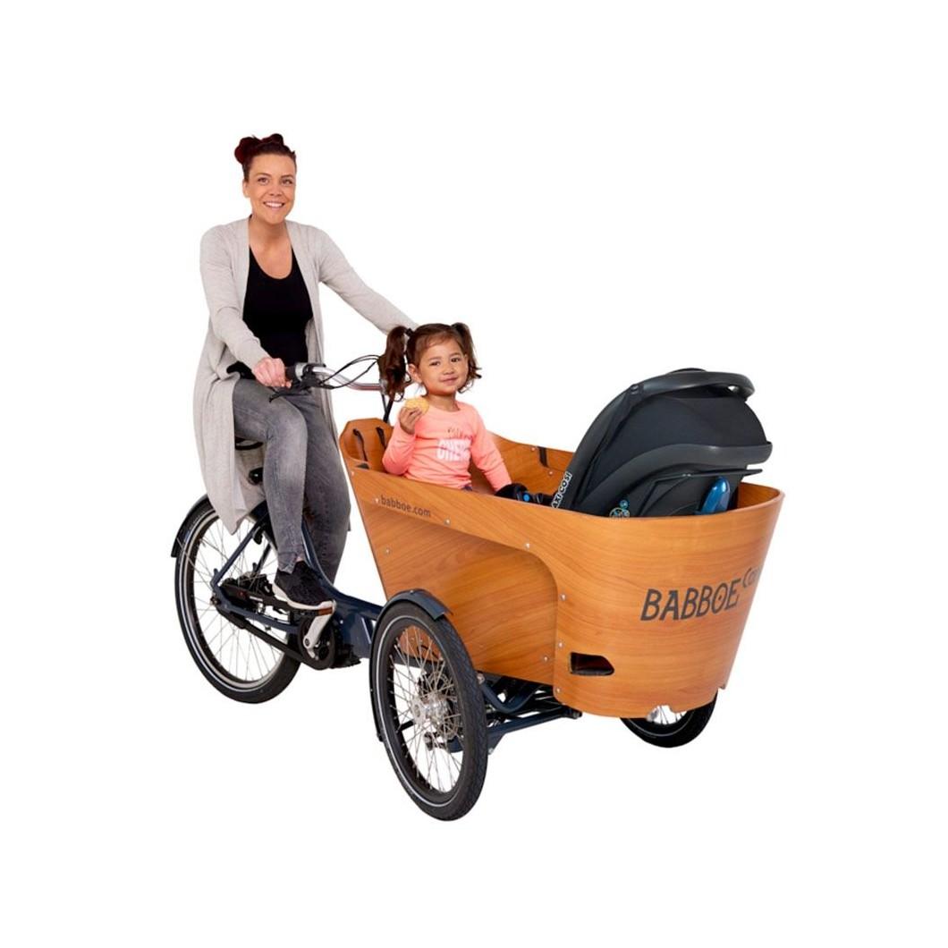 Vélo électrique triporteur cargo BABBOE Carve Mountain