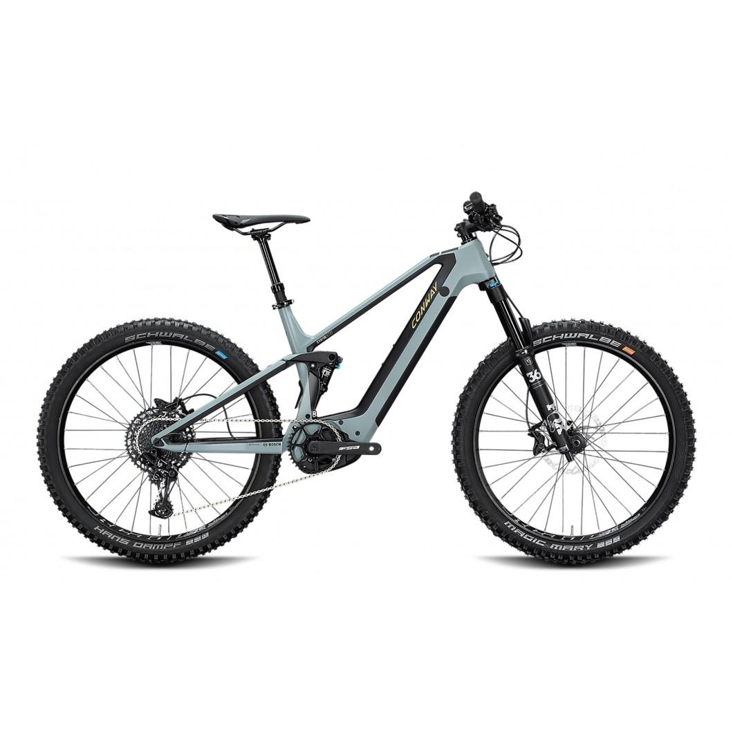 VÉLO ÉLECTRIQUE CONWAY Xyron 727 Carbon 2020 • Vélozen