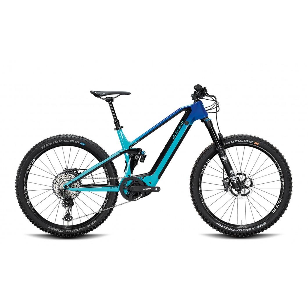 VÉLO ÉLECTRIQUE CONWAY Xyron 827 Carbon 2020 • Vélozen