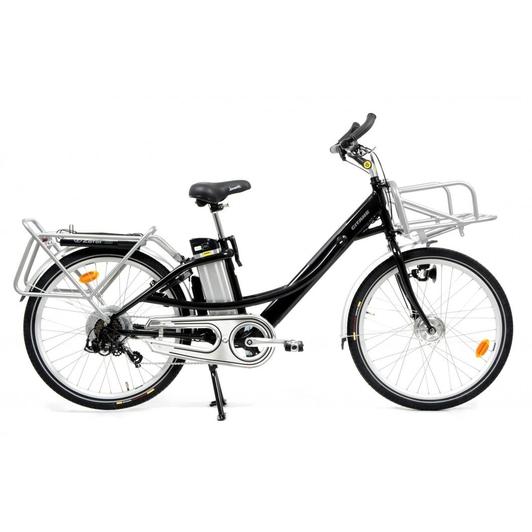 Vélo électrique longtail e-Cargo Gitane La Poste