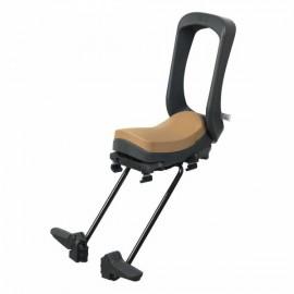 Siège enfant junior avec cale-pieds URBAN IKI avec fixation pour porte-bagages arrière de vélo électrique SIÈGE ENFANT