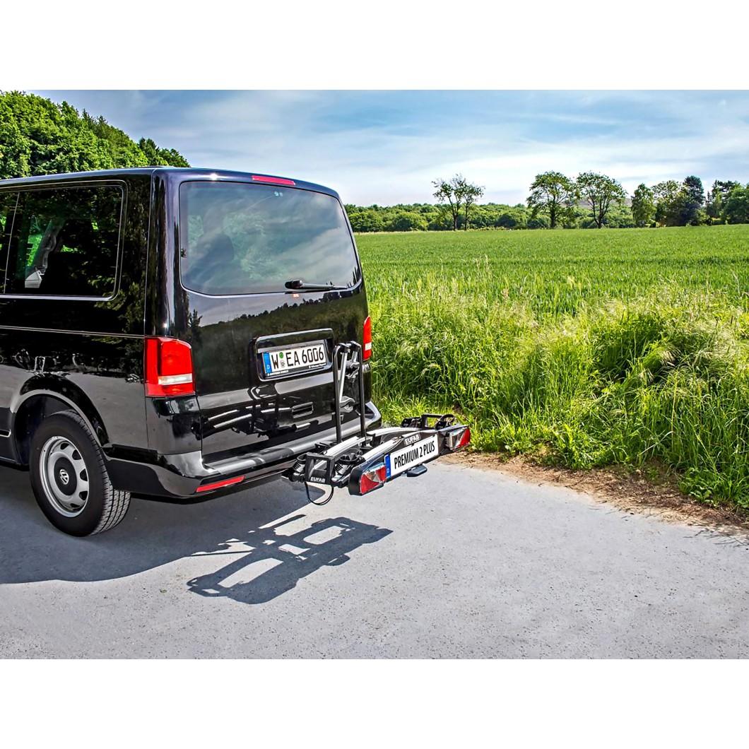 Porte-vélo électrique pliable EUFAB PREMIUM 2 Plus
