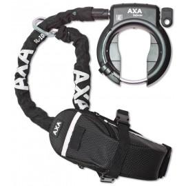 Axa Defender antivol de cadre avec chaîne clipsable