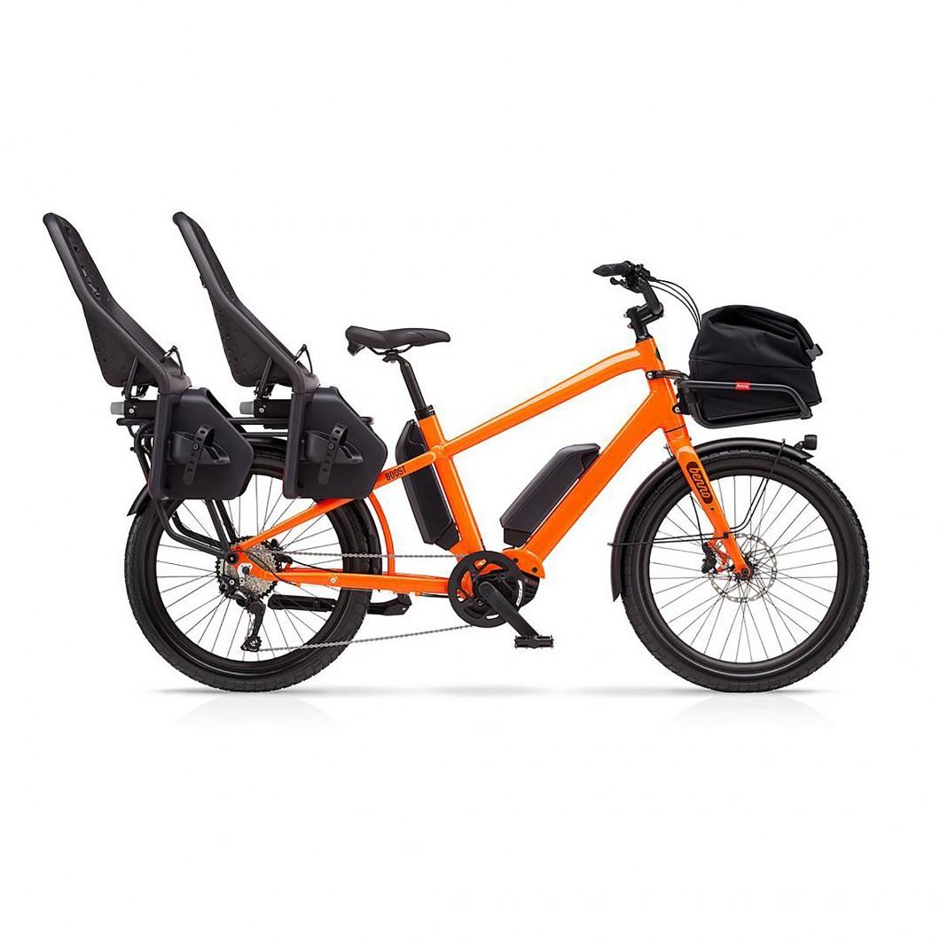 Vélo électrique cargo longtail Benno BOOST-E 10D CX 2021