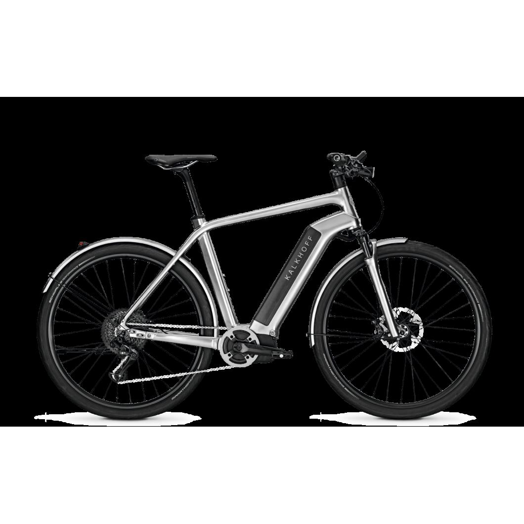 Vélo électrique Kalkhoff Integrale Limited Silver 8G 2017