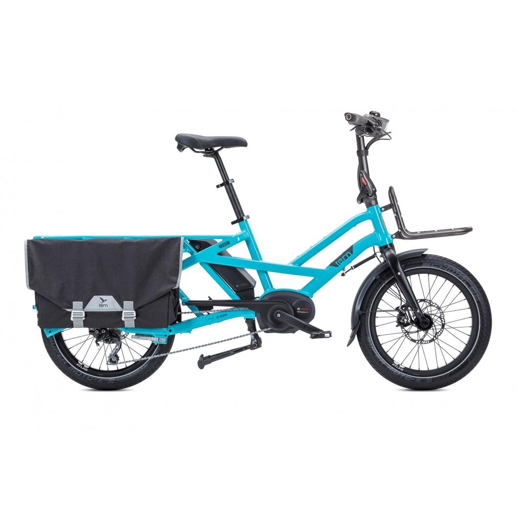 Porte-bagages avant fixe Tern Hauler Rack pour vélo électrique TERN GSD ou HSD