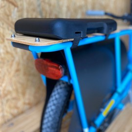 Coussin long Soft Spot pour vélo électrique cargo enfant Yuba Spicy Curry ACCESSOIRES YUBA