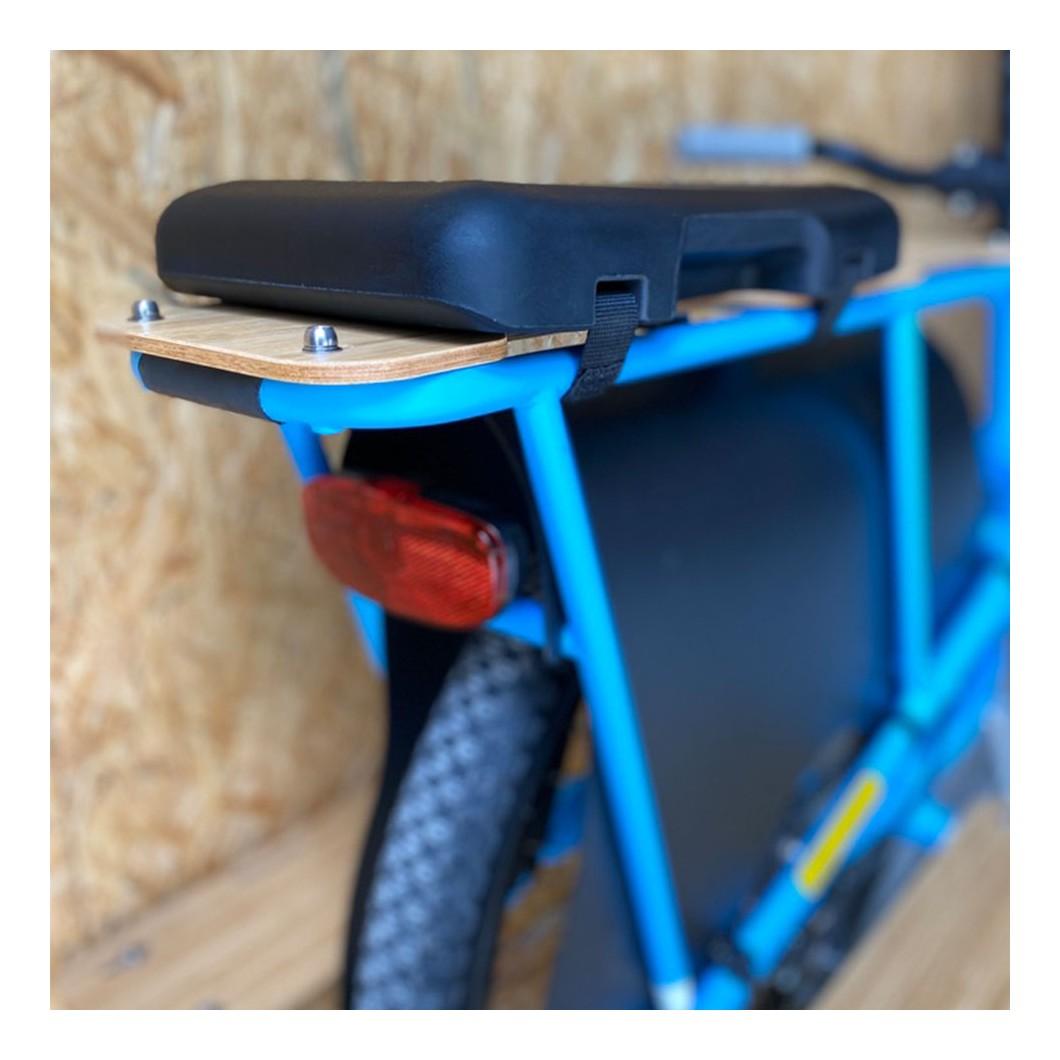 Coussin long Soft Spot pour vélo électrique cargo enfant Yuba Spicy Curry