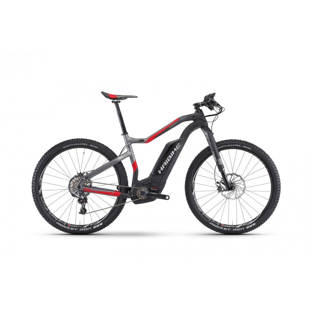 Vélo électrique HAIBIKE XDURO HardSeven Carbon 10.0 2017