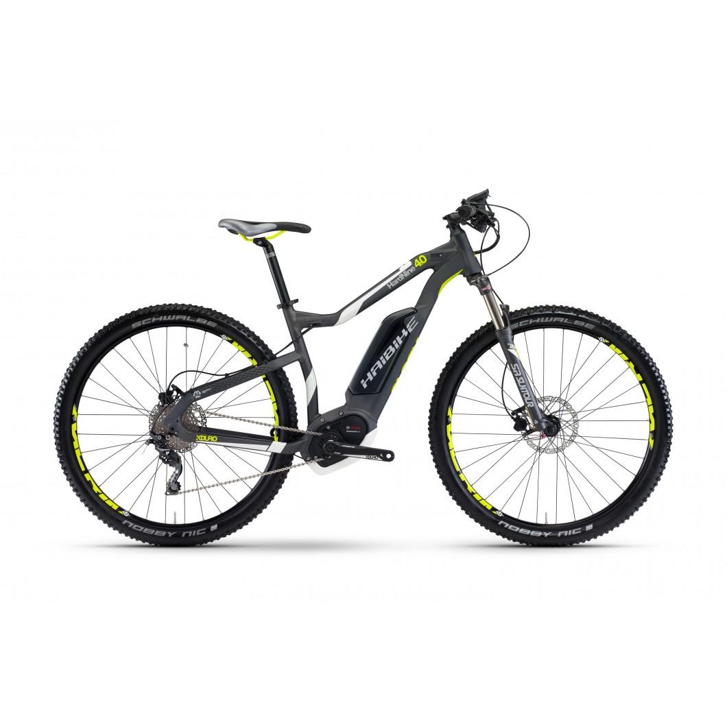Vélo électrique HAIBIKE XDURO HardNine 4.0 2017