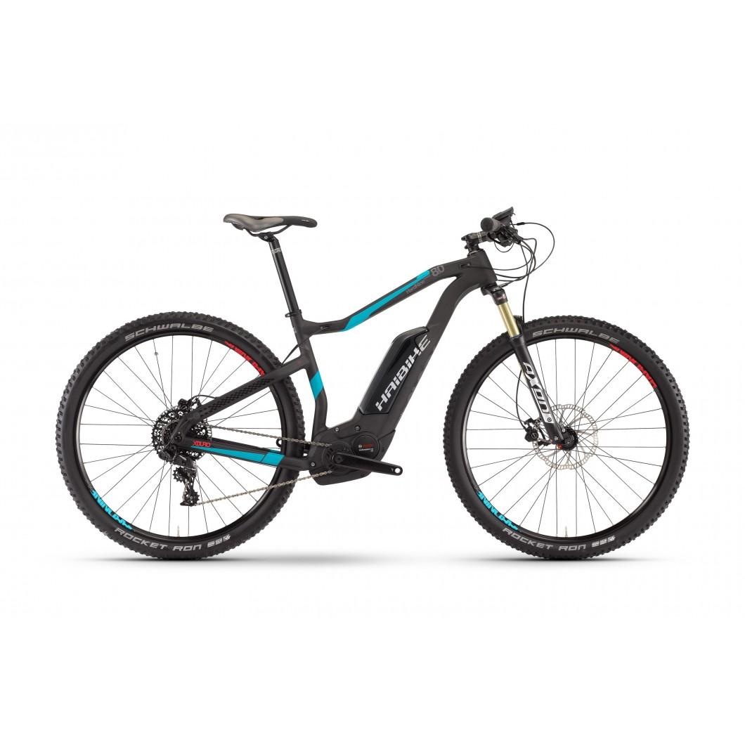 Vélo électrique HAIBIKE XDURO HardNine Carbon 8.0 2017