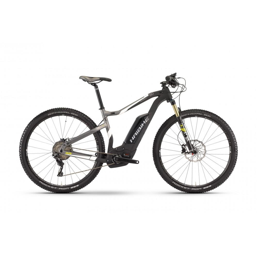 Vélo électrique HAIBIKE XDURO HardNine Carbon 9.0 2017