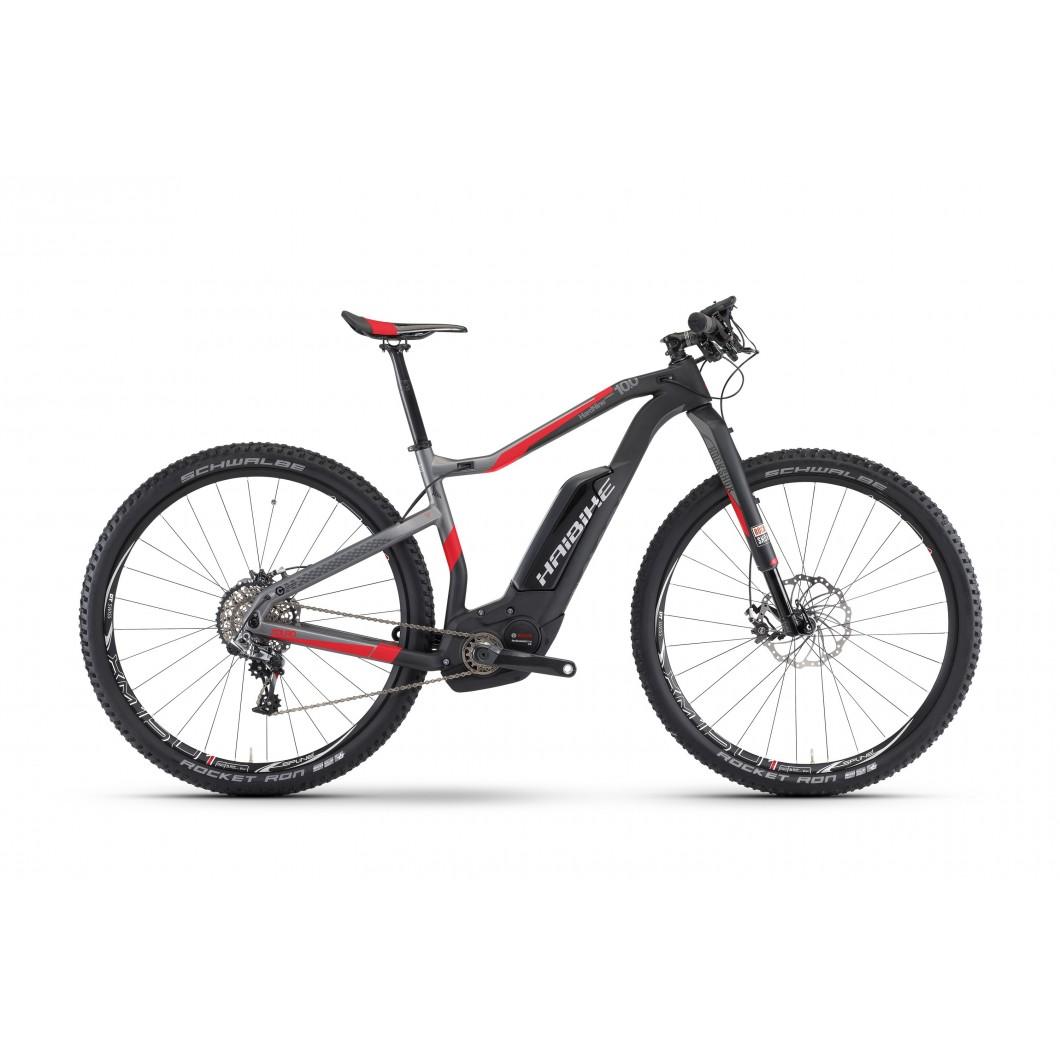 Vélo électrique HAIBIKE XDURO HardNine Carbon 10.0 2017