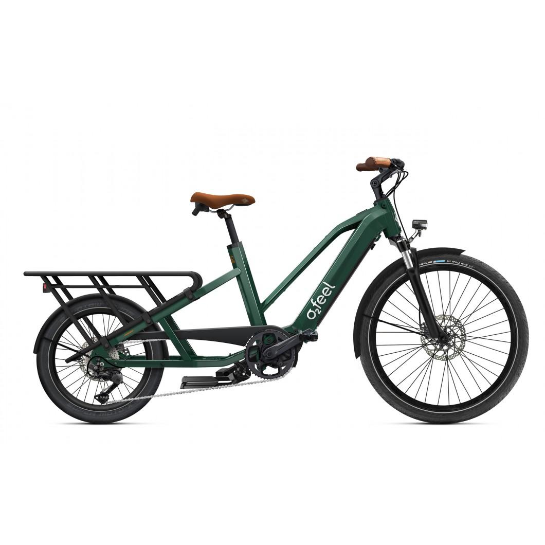 Vélo électrique longtail O2Feel Equo Cargo Power 4.1 2021