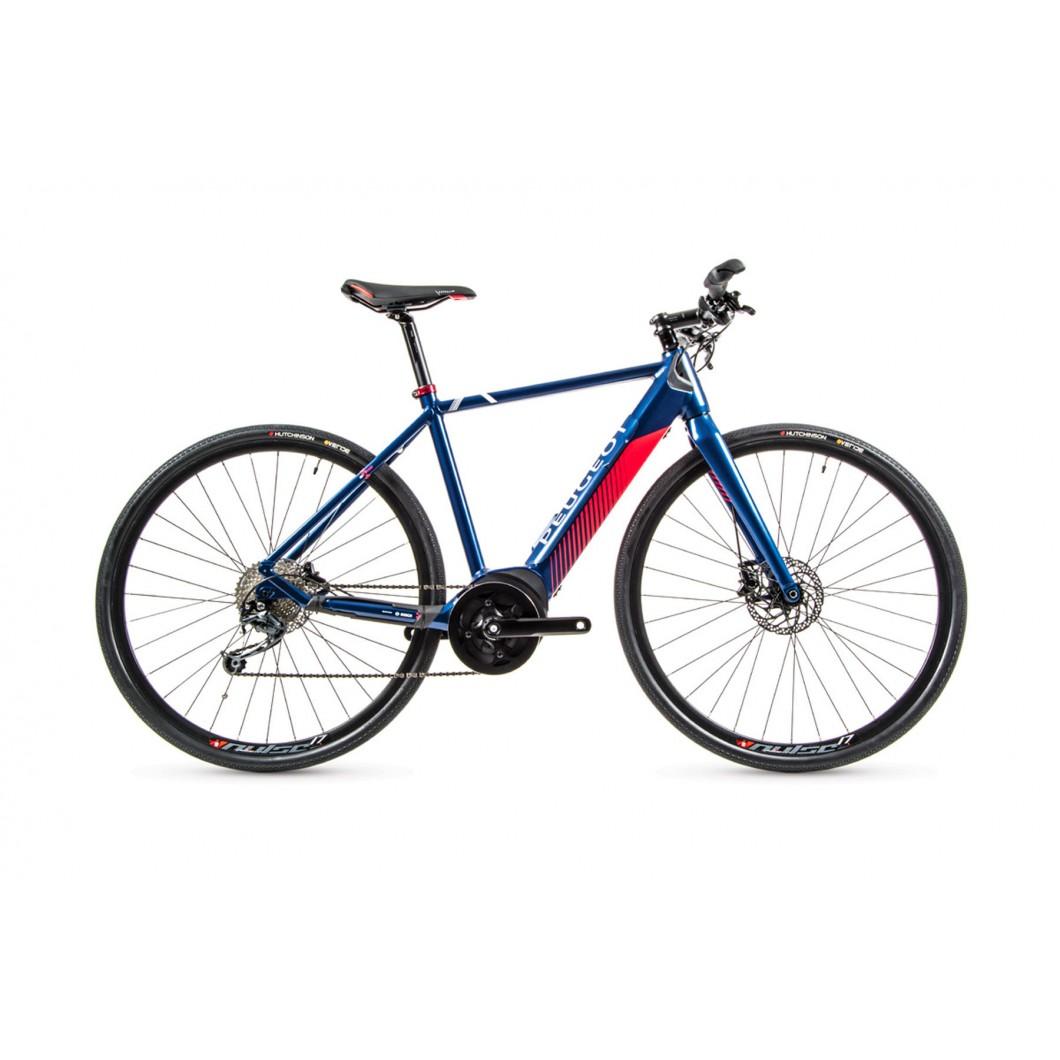 Vélo électrique route fitness gravel PEUGEOT eR02 FlatBar Powertube 2020