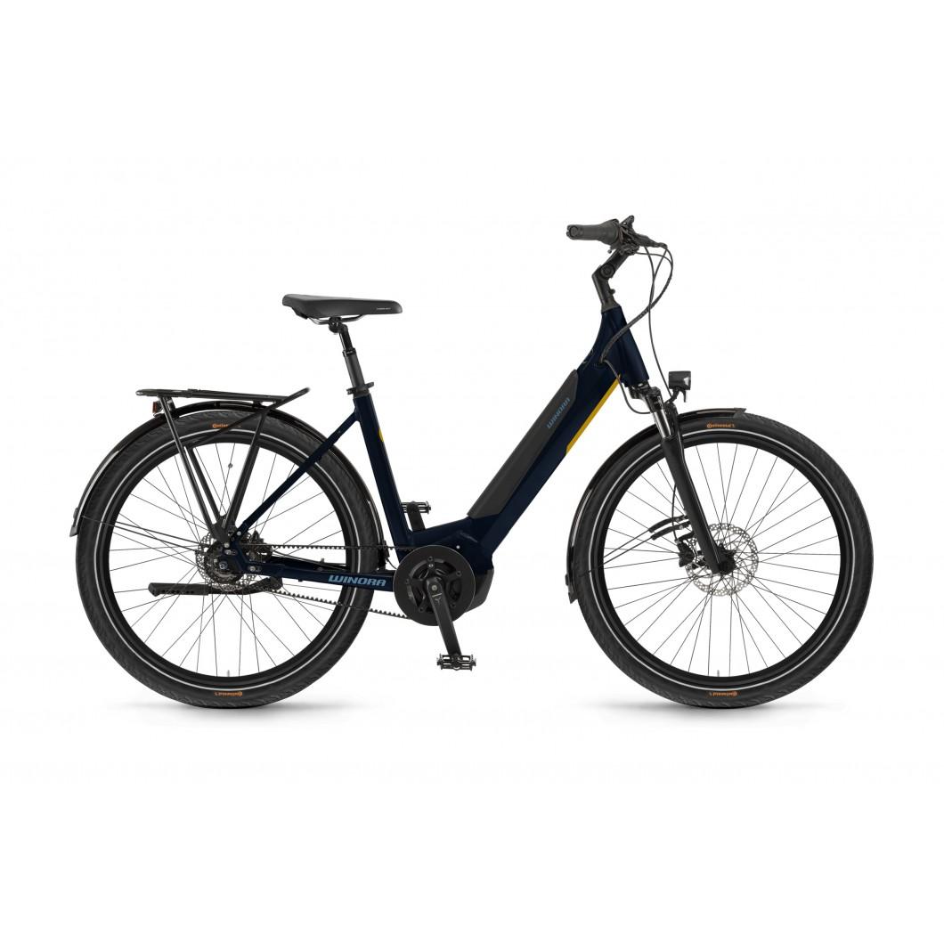 Vélo électrique Winora YUCATAN R8f 2021 courroie • Vélozen