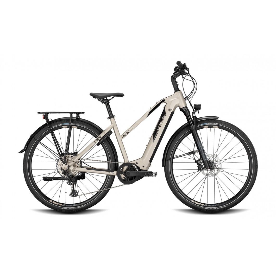 Vélo électrique Conway Cairon T 600 2021 • Vélozen