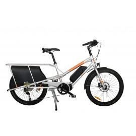 vélo-électrique -cargo-rallongé-Yuba-KOMBI-E5-2021 VÉLO ÉLECTRIQUE CARGO