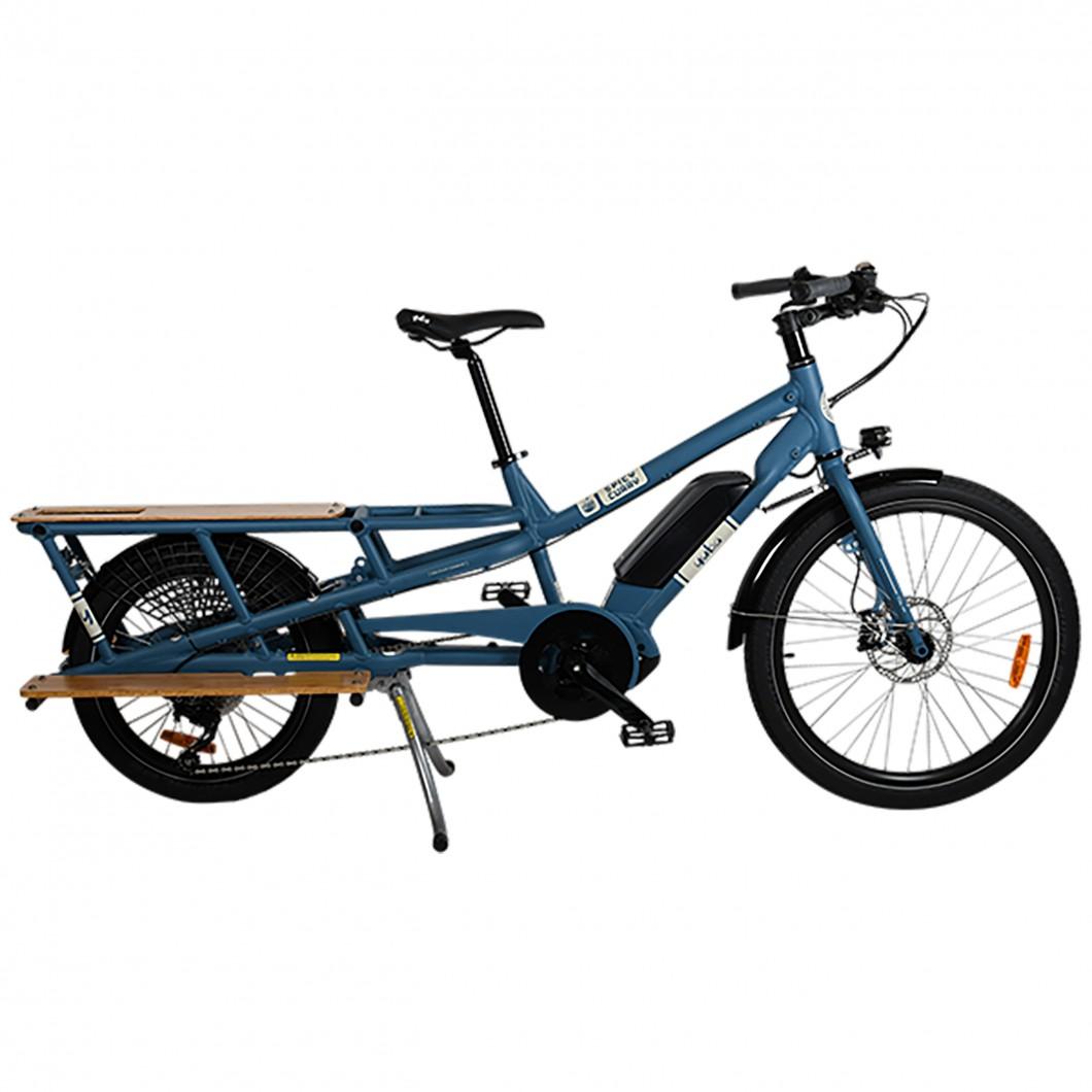 Vélo électrique cargo longtail YUBA Spicy Curry V3 City 2021 • Vélozen