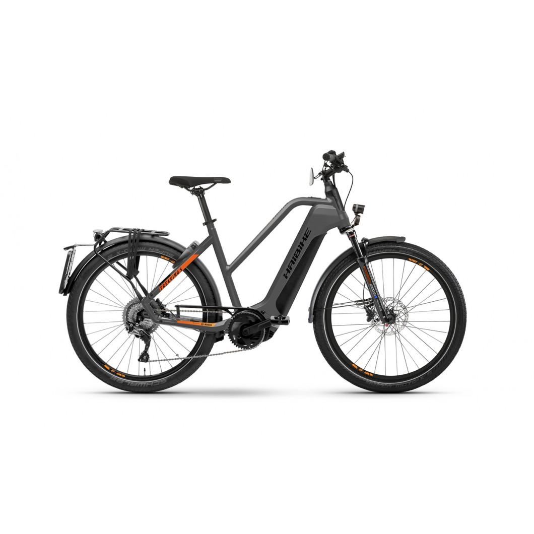 Vélo électrique 45 km/h HAIBIKE SDURO Trekking S 10 2021 • Moteur Bosch Performance Speed Gen4 85Nm 45 km/h • Batterie 625Wh