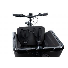 CUBE SEAT CARGO • Siège enfant double avec ceintures pour vélo électrique CUBE CARGO HYBRID 2020 VÉLO ÉLECTRIQUE CARGO