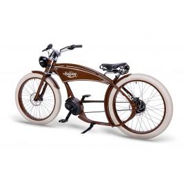 Vélo électrique vintage cruiser - The Ruffian Vintage Brown 2021 VÉLO ÉLECTRIQUE FATBIKE