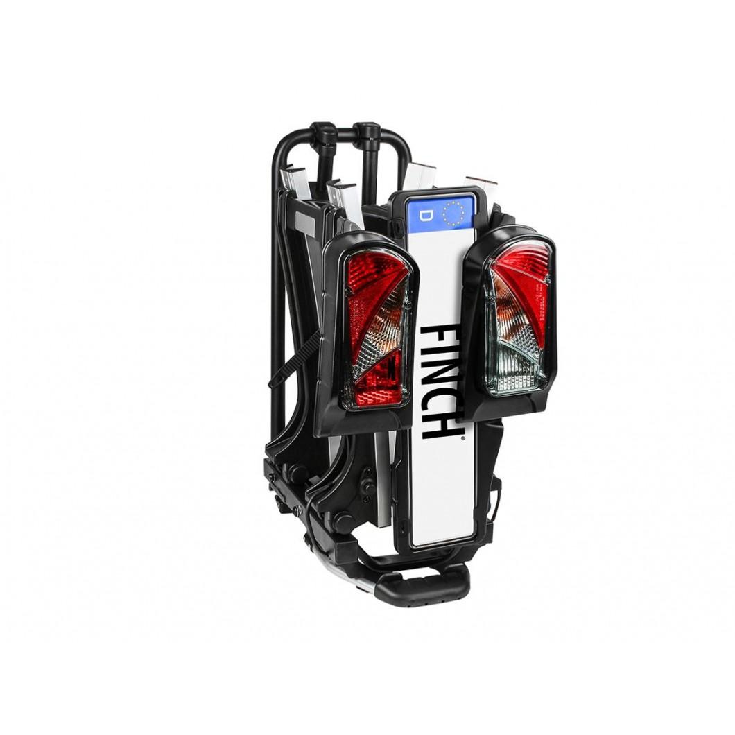 Eufab FINCH II Porte-vélos électriques pliable et basculant
