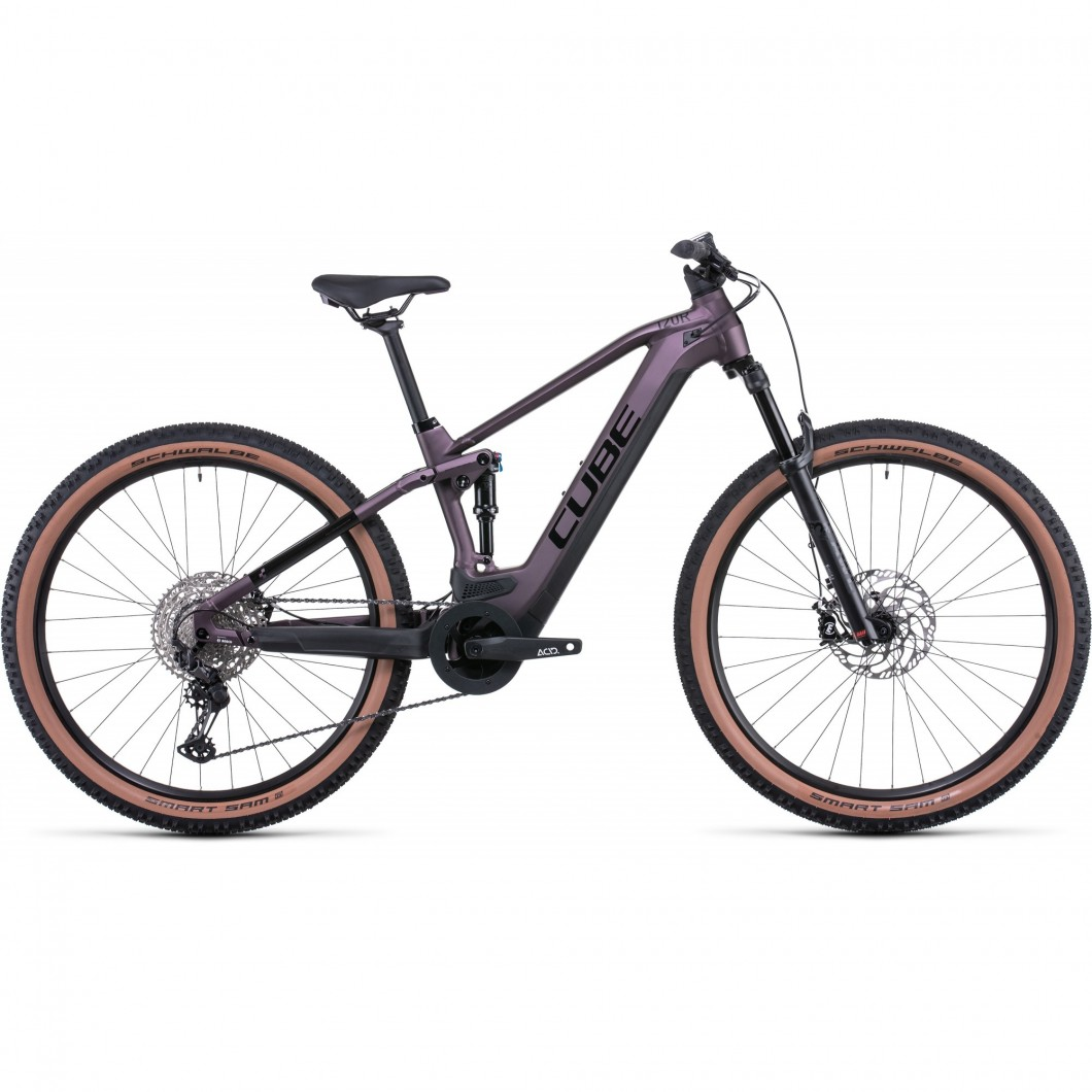 VTT ÉLECTRIQUE CUBE STEREO HYBRID 120 RACE 625 2022 • Vélozen