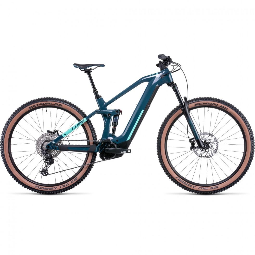 VTT ÉLECTRIQUE CUBE STEREO HYBRID 140 HPC RACE 625 2022 • Vélozen