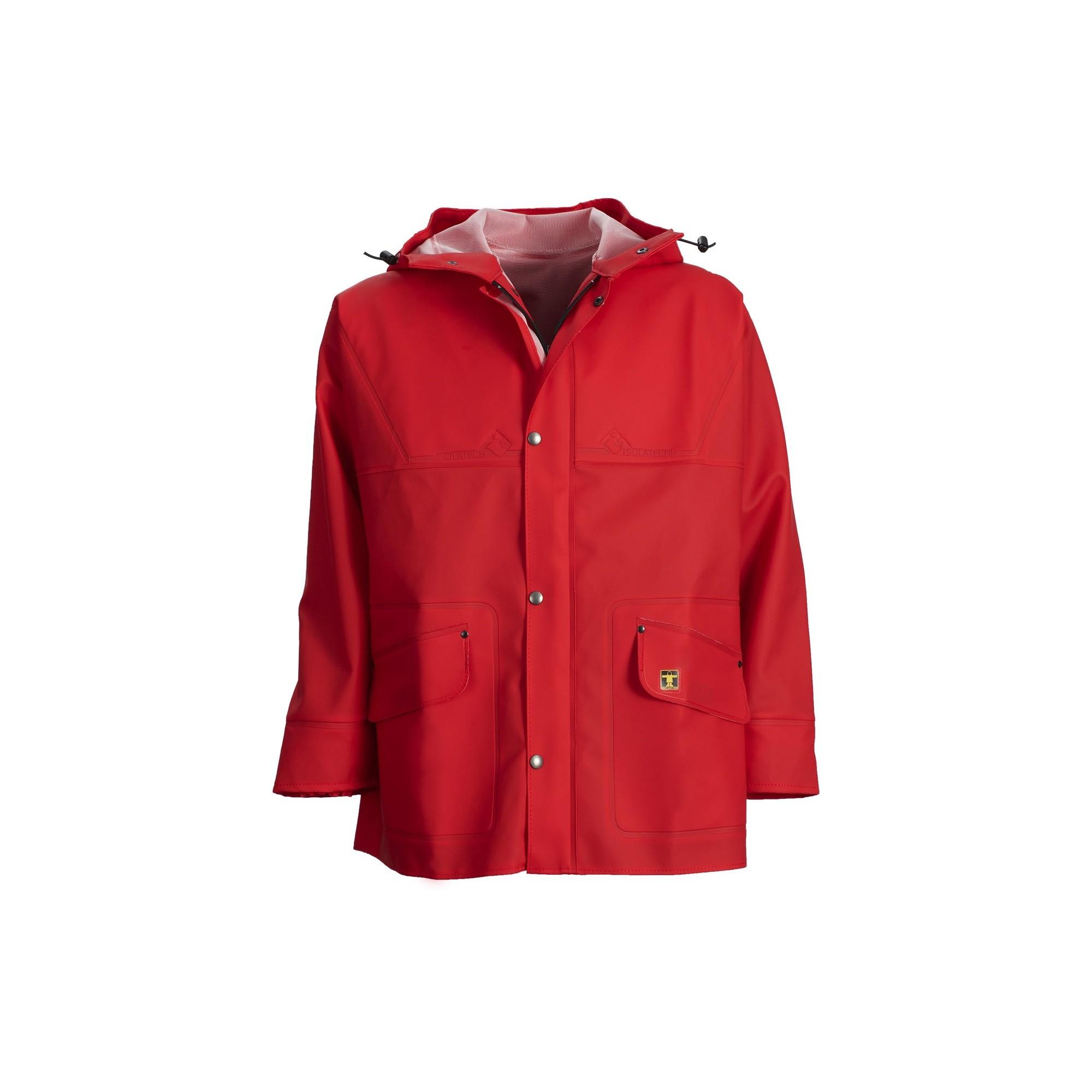 Froid Guy Pluie Glentex Rouge Vêtements Veste Cotten amp; Isoder gq1Hxv