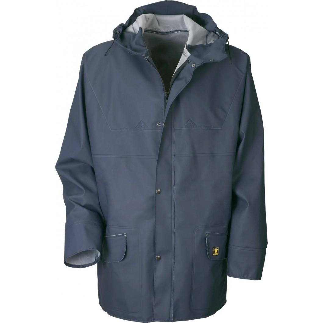 v tements pluie froid guy cotten veste pluie isoder glentex bleu v lozen v lo lectrique. Black Bedroom Furniture Sets. Home Design Ideas