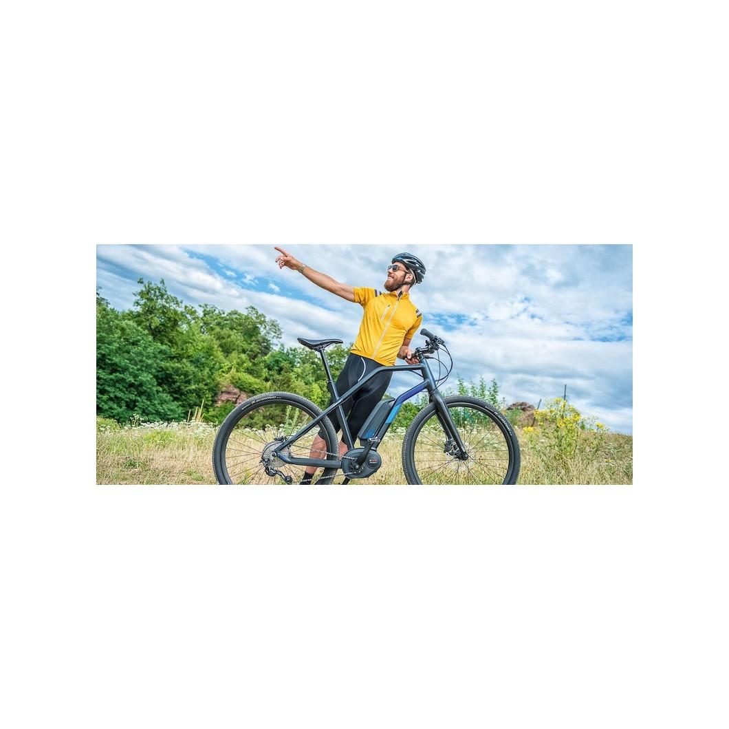 Vélo électrique MOUSTACHE DIMANCHE 28 XROAD 2016