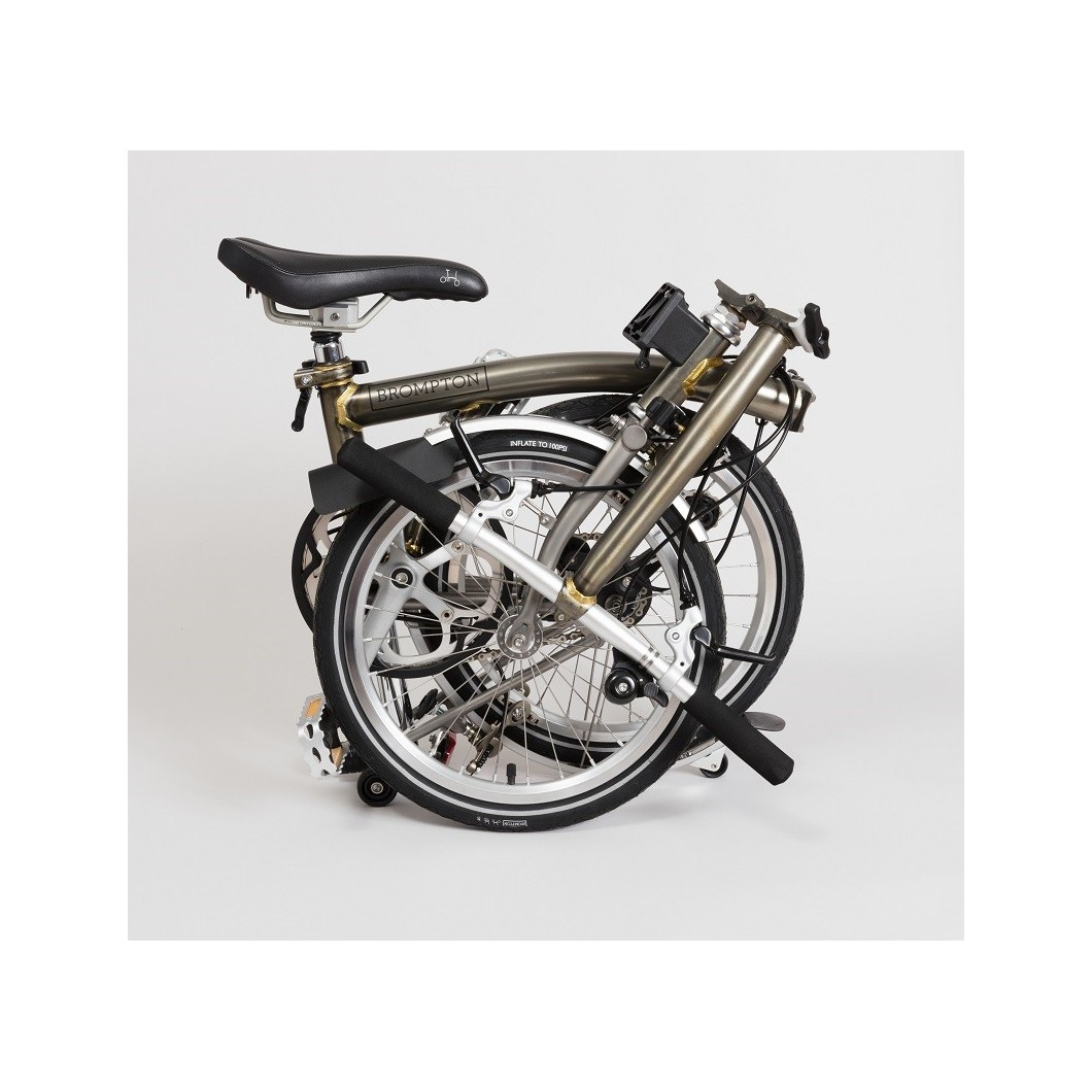 Vélo pliant BROMPTON acier laqué (brut & vernis)