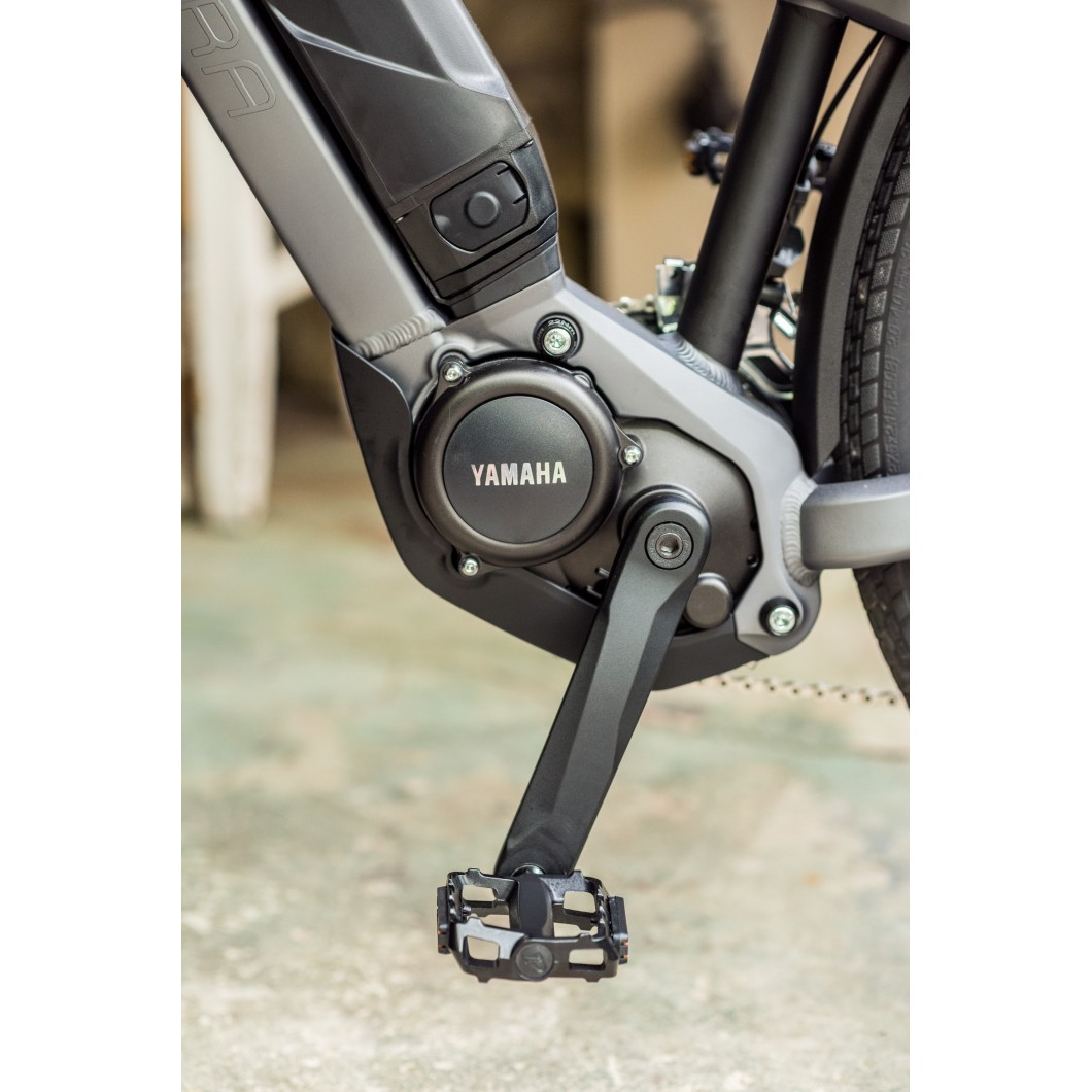 Vélo électrique WINORA Yakun urban 2017 • Spécial transport : fixation remorque intégrée au cadre