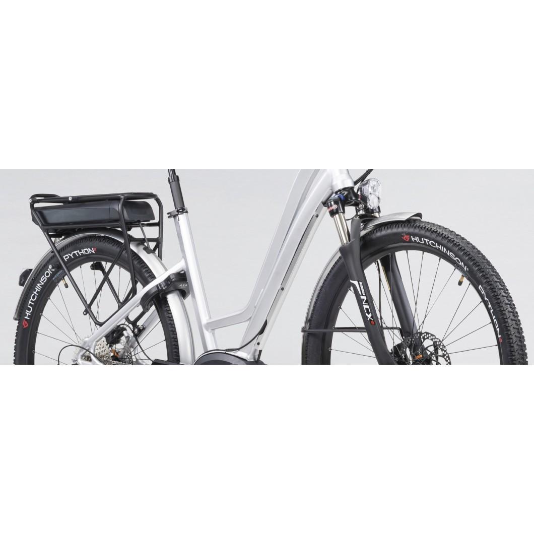 Vélo électrique MOUSTACHE SAMEDI 27 XROAD 5 OPEN SILVER 2017