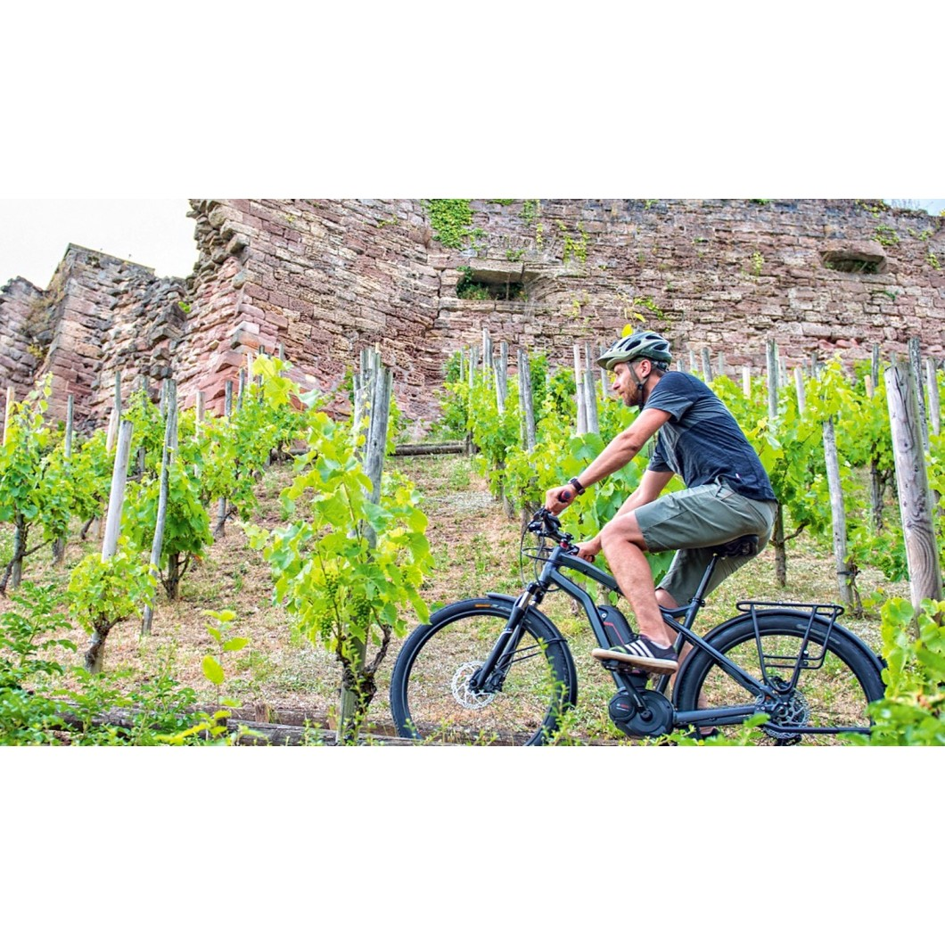 vélo électrique MOUSTACHE Samedi 27 XRoad 3 Black 2017