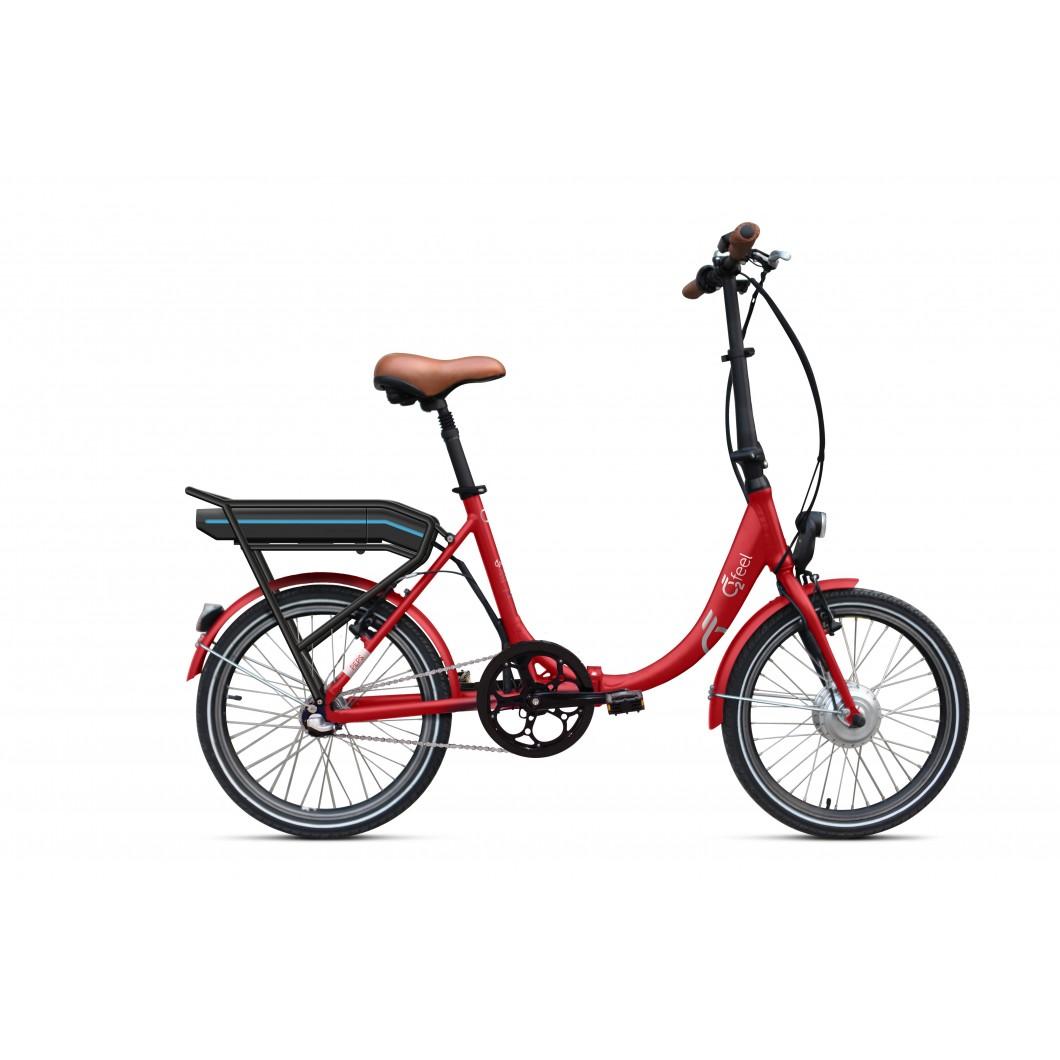 Vélo électrique pliant O2FEEL PEPS BAS N3 2017