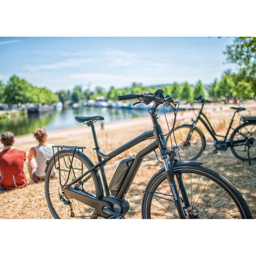 vélo électrique MOUSTACHE Samedi 28 Black 2017