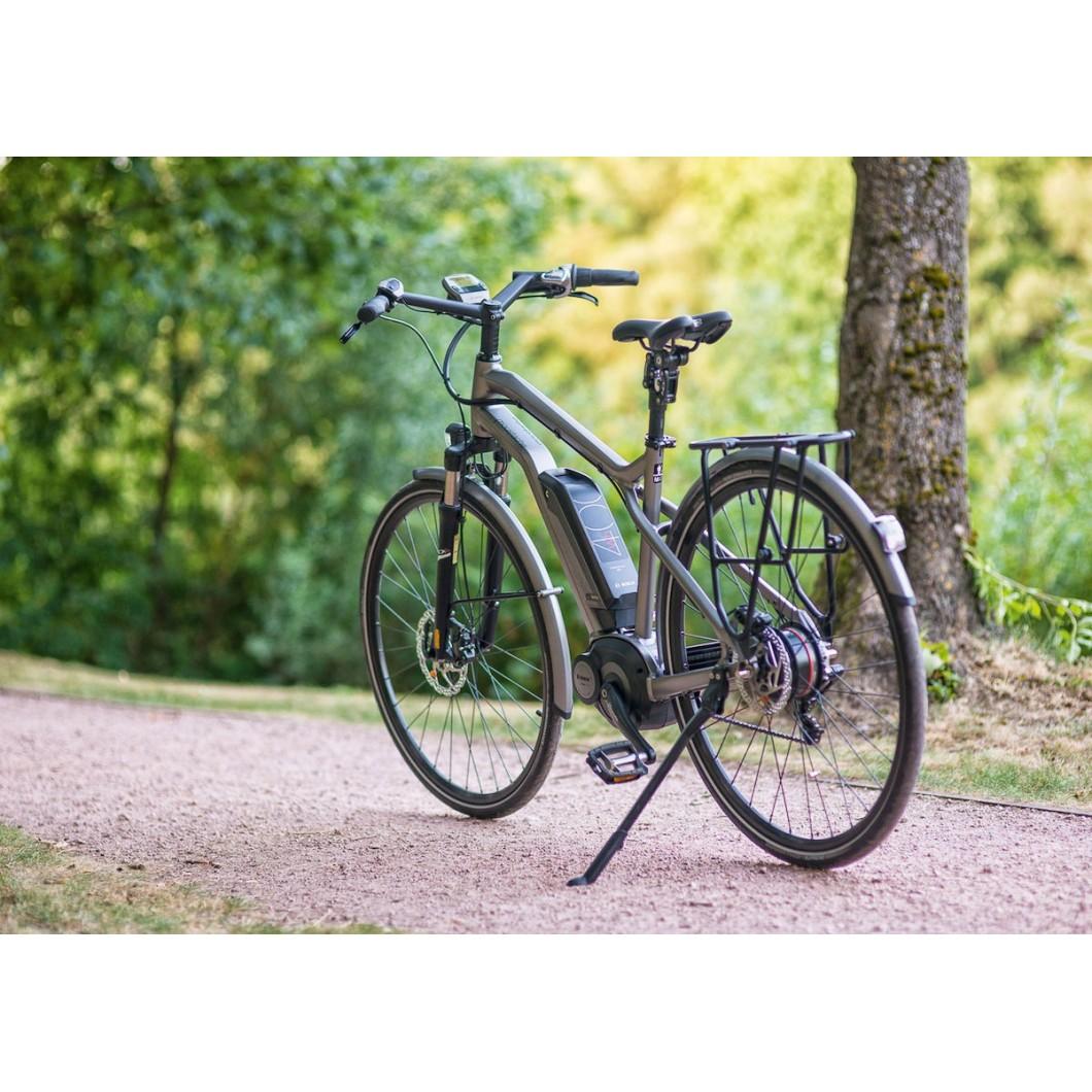 Vélo électrique MOUSTACHE SAMEDI 28 TITANIUM NUVINCI 2017