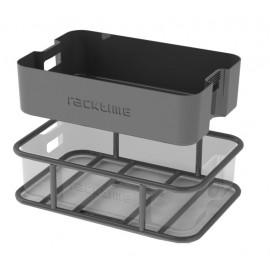 Panier-caisse RACKTIME Boxit 18L noir