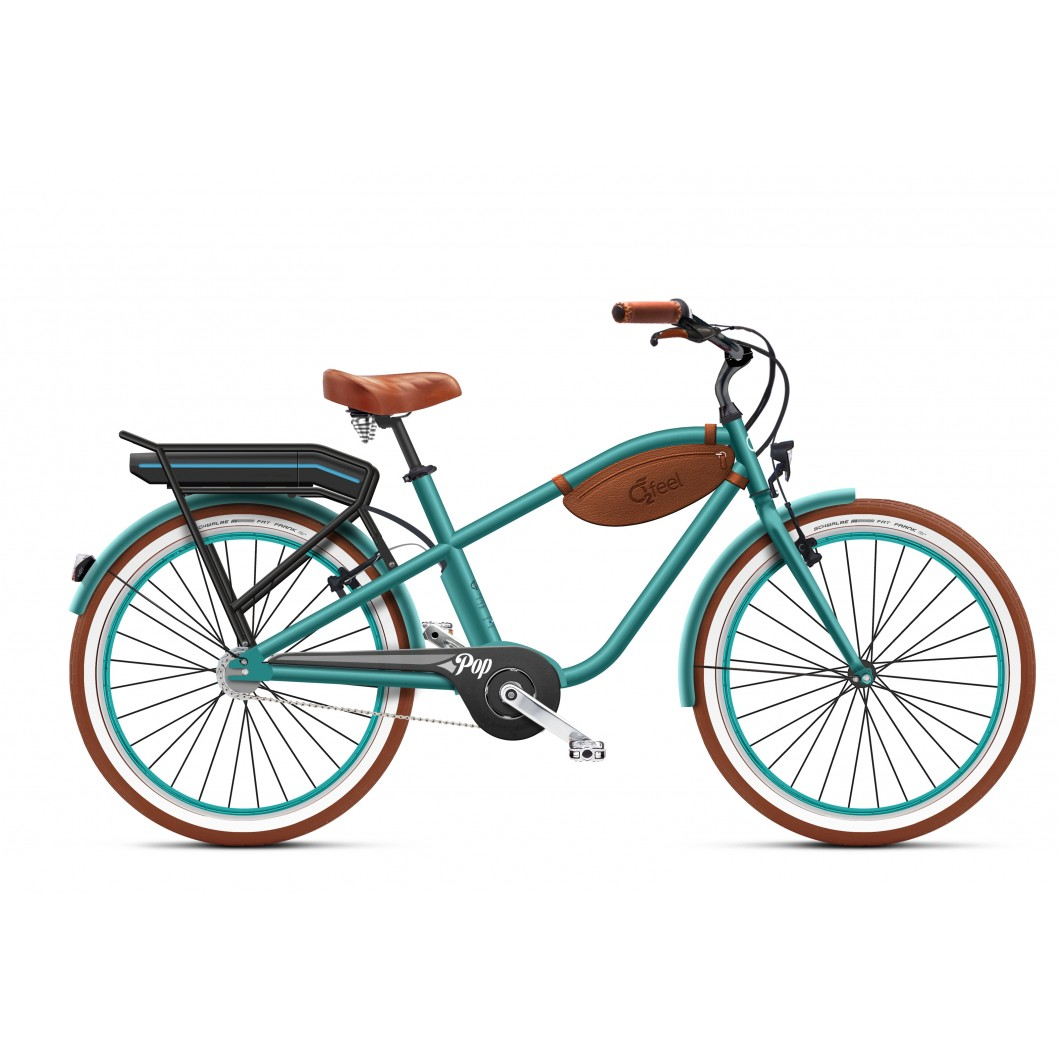 VÉLO ÉLECTRIQUE O2FEEL Pop Beach Cruiser 2018