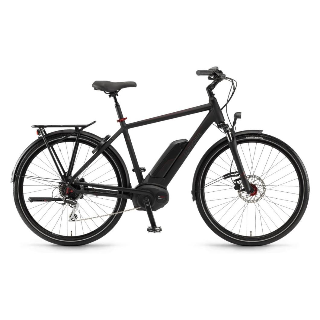 Vélo électrique trekking Winora Sinus Tria 8 2018 - Moteur Bosch Performance