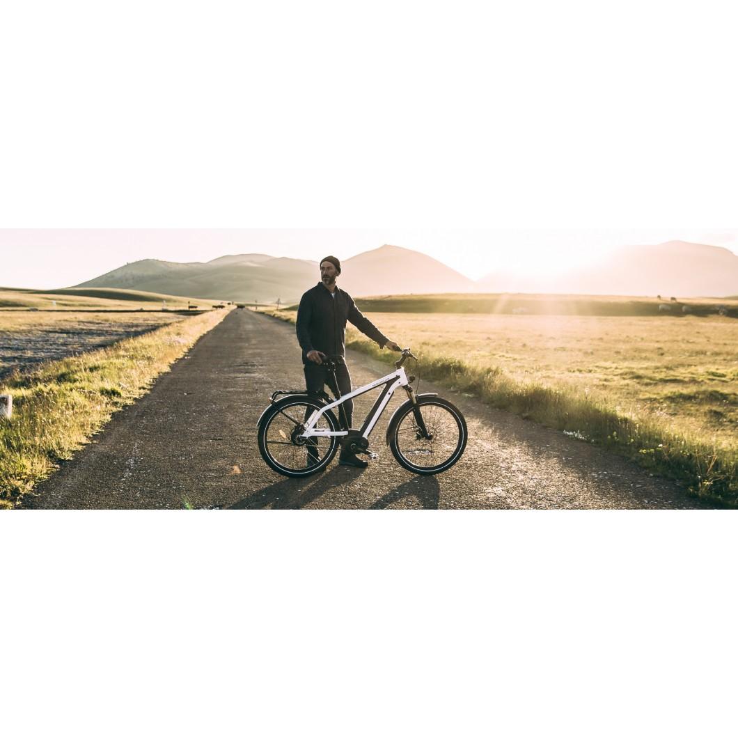 Vélo électrique RIESE & MULLER New Charger Nuvinci 2018 - courroie