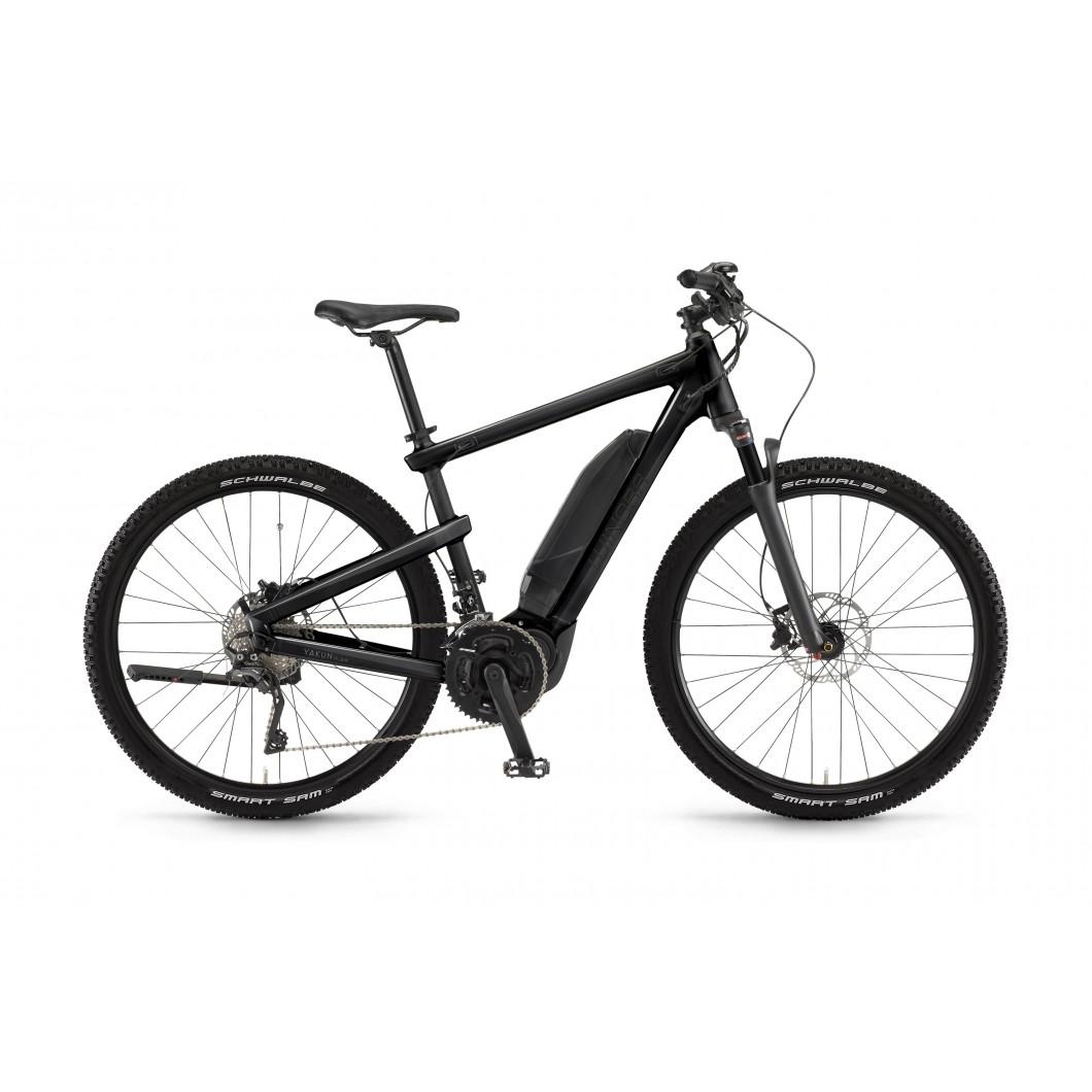 Vélo électrique WINORA Yakun plain 2017 • Spécial transport : fixation remorque intégrée au cadre